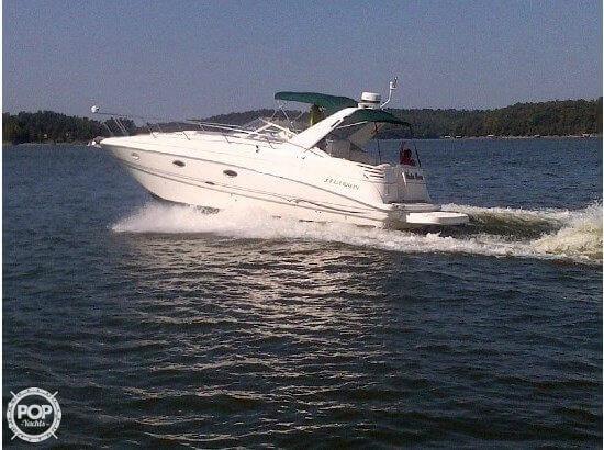 Used Larson 330 Cabrio Mid Cabin Express Cruiser Boat For Sale
