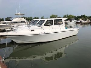 Used Sea Hawk 360360 Freshwater Fishing Boat For Sale