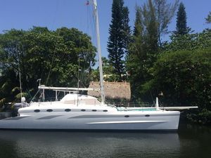 Used Wormwood Ocean 55' Catamaran Sailboat For Sale