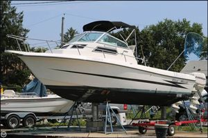 Used Hydra-Sports 2550 Walkaround Fishing Boat For Sale