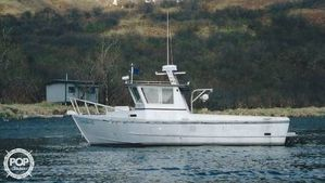 Used Homebuilt 28 Commercial Quality Workboat Pilothouse Boat For Sale