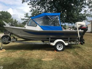 Used Wooldridge Alaskan 16 Aluminum Fishing Boat For Sale