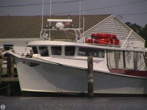 Used Glass Boat Works 46 Downeast Fishing Boat For Sale