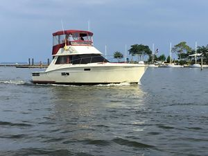 Used Trojan F36 Convertible Fishing Boat For Sale