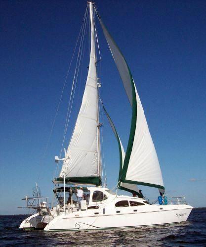 Used Prout Owner's Version Catamaran Power Catamaran Boat For Sale