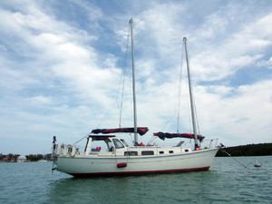 Used Allied Princess Schooner Cruiser Sailboat For Sale