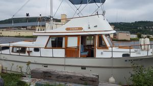 Used Albin 33 Aft Cabin Trawler Boat For Sale
