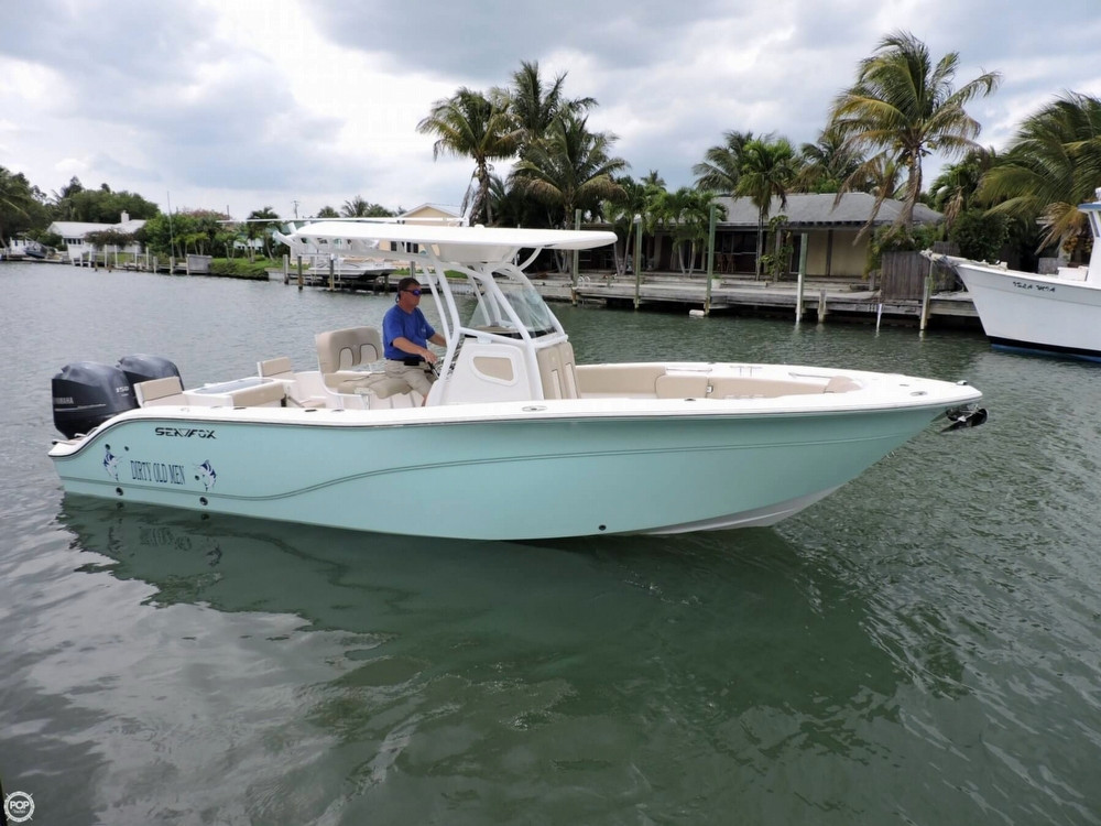 2015 used sea fox 266 commander center console fishing for Sea fishing boats