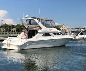 Used Sea Ray 440 Express Bridge Convertible Fishing Boat For Sale