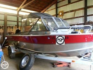 Used Alumaweld 202 Blackhawk Aluminum Fishing Boat For Sale