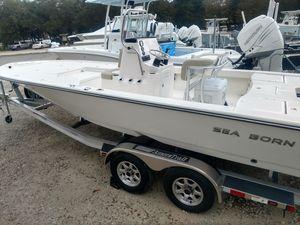 New Sea Born FX22 Bay Center Console Fishing Boat For Sale