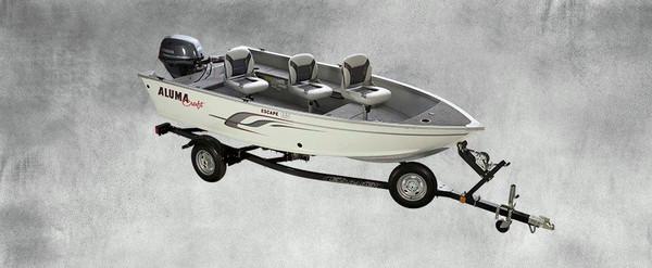 New Alumacraft Escape 145 10222 Freshwater Fishing Boat For Sale