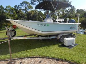 Used Carolina Skiff 198 DLX Saltwater Fishing Boat For Sale