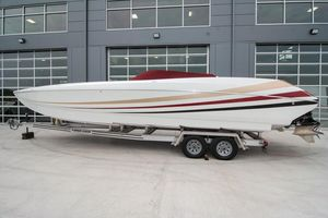 Used Sonic 32 Fast Cat Power Catamaran Boat For Sale