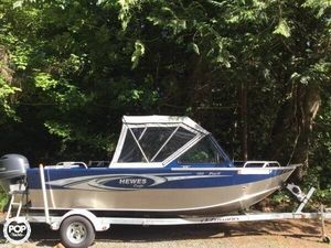 Used Hewescraft 180 Pro V Aluminum Fishing Boat For Sale
