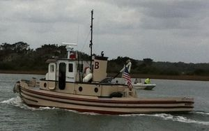 Used Custom Tug Army X ST 548 Commercial Boat For Sale
