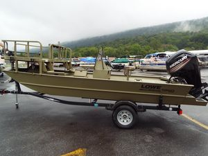 Used Lowe Roughneck 1860 ArcherRoughneck 1860 Archer Jon Boat For Sale