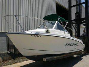 Used Trophy 1952 Walkaround Center Console Fishing Boat For Sale