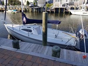 Used Catalina 22 Sport Daysailer Sailboat For Sale