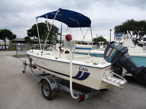 Used Cobia 17 CC Bay Boat For Sale