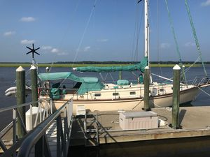 Used Island Packet 44 Cutter Rig Cutter Sailboat For Sale