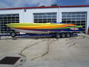 Used Cigarette 39 Top Gun High Performance Boat For Sale