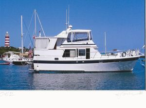 Used Heritage East 40 Nova Sundeck Trawler Boat For Sale