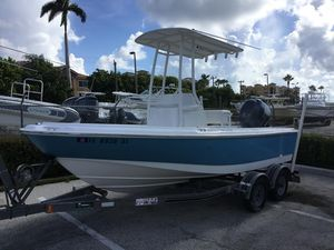 Used Boston Whaler 18 Ventura18 Ventura Center Console Fishing Boat For Sale