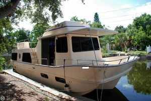 Used Holiday Mansion 38 Coastal Barracuda House Boat For Sale