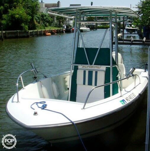 1995 used sunbird 19 neptune center console fishing boat for Used center console fishing boats for sale
