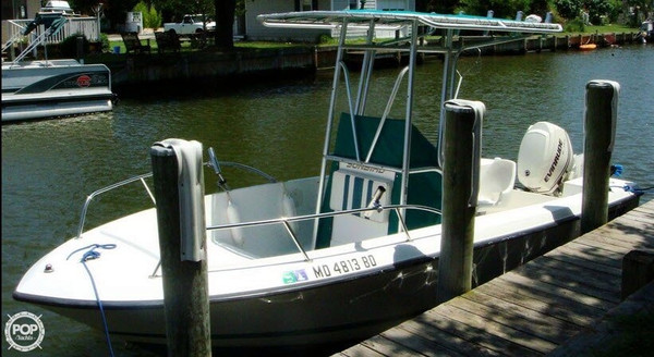 Used Sunbird 19 Neptune Center Console Fishing Boat For Sale