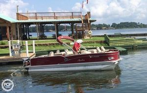 Used Avalon 2385 QF Saltwater series Pontoon Boat For Sale