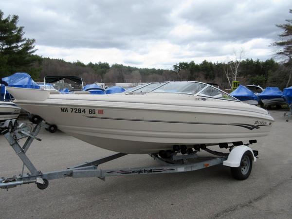Used Larson 210 Ski & Fish I/O - 11471 Saltwater Fishing Boat For Sale