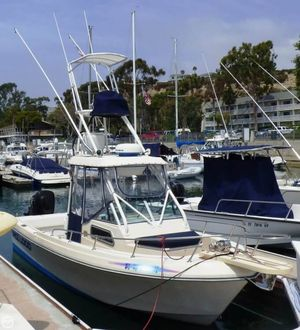 Used Sea Ox 230 Walkaround Fishing Boat For Sale