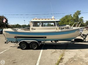 Used C-Dory 22 Cruiser Walkaround Fishing Boat For Sale