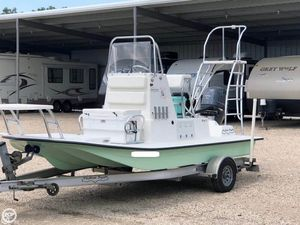 Used Shallow Sport 18 Classic Flats Fishing Boat For Sale
