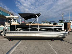 Used Crest 230 SLR Pontoon Boat For Sale