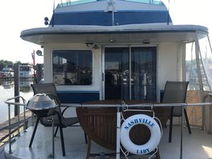Used Gibson C Yacht House Boat For Sale