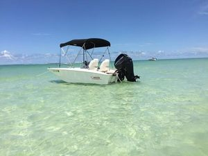 Used Boston Whaler 130 Super Sport Center Console Fishing Boat For Sale