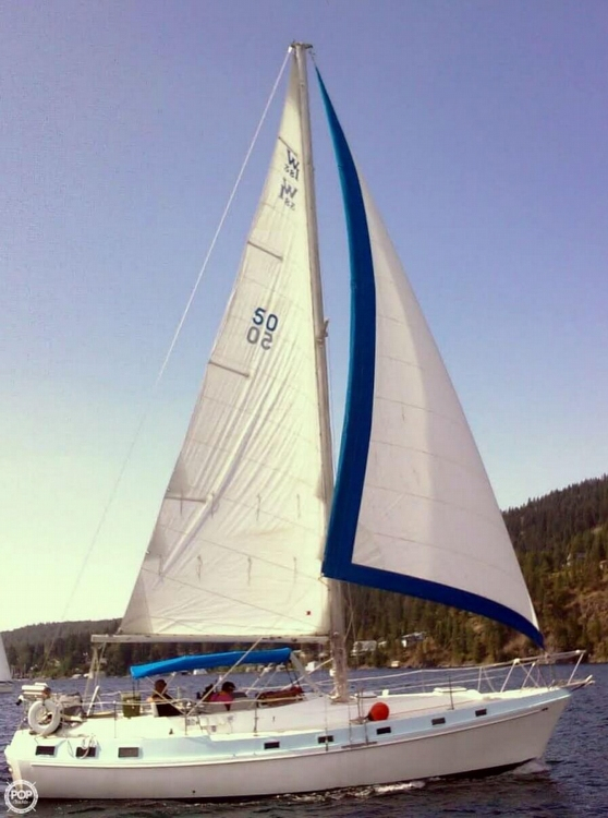 Used Heritage West Indies 38 Sloop Sailboat For Sale