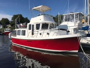 Used American Tug 34 Flybridge Trawler Boat For Sale