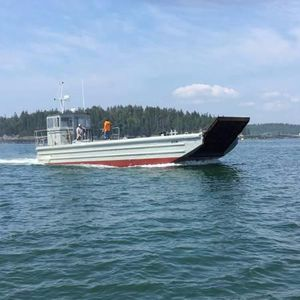 Used Landing Craft - Twin 671s - Navy Landing Craft 20 Ton Cargo Capacity - Owner Motivated Cargo Ship Boat For Sale