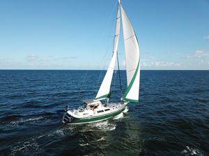 Used Hans Christian Explorer Hallmark 4870 Cruiser Sailboat For Sale
