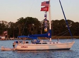 Used Catalina 34 Tall Rig Racer and Cruiser Sailboat For Sale