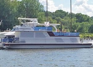Used Gibson 50 Standard FB House Boat For Sale