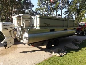 Used Crest Super Sport Pontoon Boat For Sale