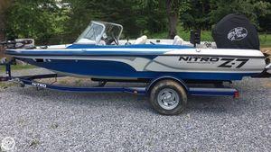 Used Nitro Z7 Sport Bass Boat For Sale