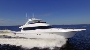Used Lazzara 76 GRAND SALON76 GRAND SALON Pilothouse Boat For Sale