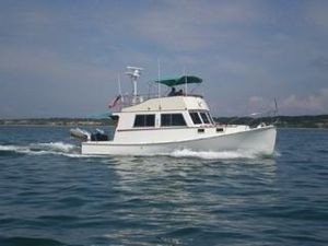 Used Duffy Flybridge Cruiser Downeast Fishing Boat For Sale