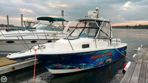 Used Trophy 2509 WA Walkaround Fishing Boat For Sale
